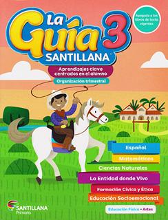LA GUIA SANTILLANA 3: 2020-2021 (INCLUYE ALAS DE...