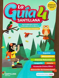 LA GUIA SANTILLANA 4: 2020-2021 (INCLUYE ALAS DE...