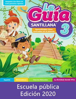LA GUIA SANTILLANA 3 ESCUELA PUBLICA 2020-2021...