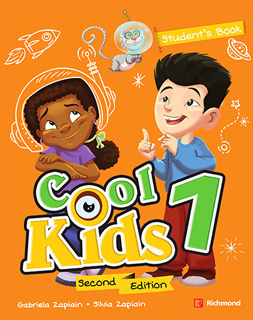 COOL KIDS 1 PACK STUDENTS BOOK + COOL READING + CD + CODIGO DE ACCESO RICHMOND SPIRAL