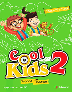 COOL KIDS 2 STUDENTS BOOK + COOL READING + CD + CODIGO DE ACCESO RICHMOND SPIRAL