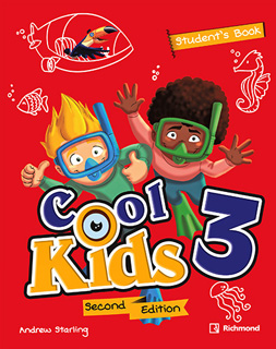 COOL KIDS 3 STUDENTS BOOK + COOL READING + CD + CODIGO DE ACCESO RICHMOND SPIRAL