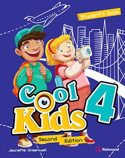 COOL KIDS 4 PACK STUDENTS BOOK + COOL READING + CD + CODIGO DE ACCESO RICHMOND SPIRAL