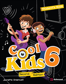 COOL KIDS 6 PACK STUDENTS BOOK + COOL READING + CD + CODIGO DE ACCESO RICHMOND SPIRAL