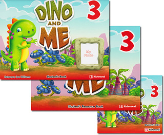 DINO AND ME 3 PACK STUDENTS BOOK (INCLUDE...