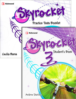 SKYROCKET 3 STUDENTS BOOK (INCLUDE PRACTICE TESTS...