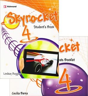 SKYROCKET 4 STUDENTS BOOK (INCLUDE PRACTICE TESTS...
