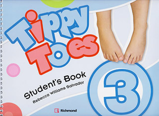 TIPPY TOES 3 STUDENTS BOOK PACK (INCLUDE CDS,...