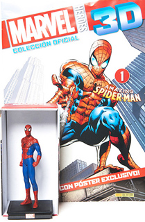 SUPER HEROES MARVEL 3D SPIDERMAN (INCLUYE FIGURA COLECCIONABLE)