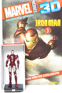 SUPER HEROES MARVEL 3D IRON MAN (INCLUYE FIGURA COLECCIONABLE)