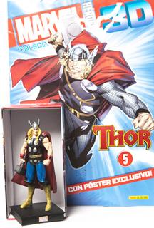 SUPER HEROES MARVEL 3D THOR (INCLUYE FIGURA COLECCIONABLE)