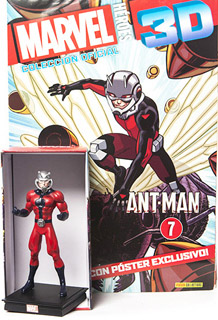 SUPER HEROES MARVEL 3D ANT MAN (INCLUYE FIGURA...