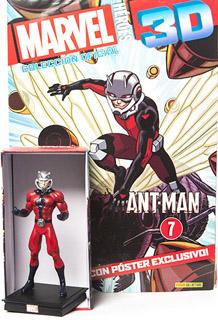 SUPER HEROES MARVEL 3D ANT MAN (INCLUYE FIGURA COLECCIONABLE)