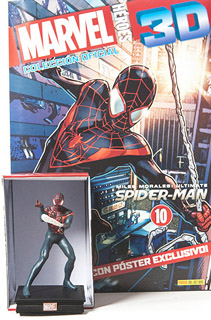 SUPER HEROES MARVEL 3D ULTIMATE SPIDER-MAN (INCLUYE FIGURA COLECCIONABLE)