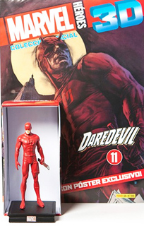 SUPER HEROES MARVEL 3D DAREDEVIL (INCLUYE FIGURA...