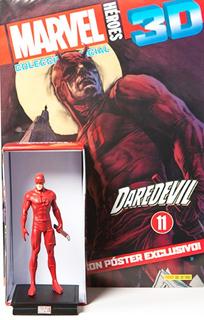 SUPER HEROES MARVEL 3D DAREDEVIL (INCLUYE FIGURA COLECCIONABLE)