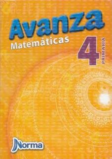 AVANZA MATEMATICAS 4 PRIMARIA CON CUADERNO DE EJERCICIOS