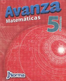 AVANZA MATEMATICAS 5 PRIMARIA CON CUADERNO DE EJERCICIOS