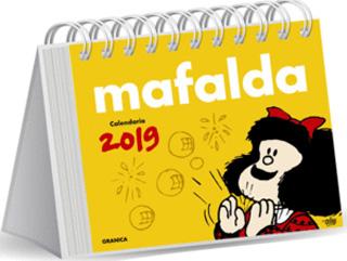 MAFALDA 2019 CALENDARIO AMARILLO (CAJA)