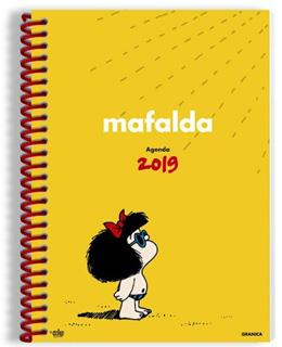 AGENDA MAFALDA 2019 AMARILLA (ANILLADA)