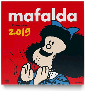 MAFALDA 2019 CALENDARIO DE PARED