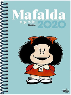 MAFALDA AGENDA 2020 (COLOR AZUL)