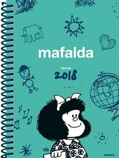 AGENDA 2018 MAFALDA (ANILLADA VERDE)