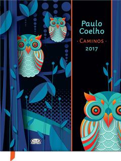 AGENDA 2017 PAULO COELHO, CAMINOS (CARTONE)