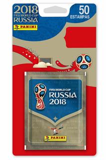 BLISTER DE 10 SOBRES RUSIA 2018