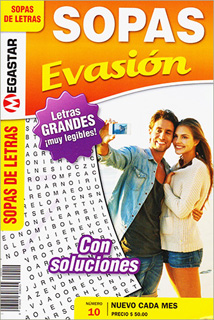 SOPAS EVASION (SOPAS DE LETRAS MENSUAL)