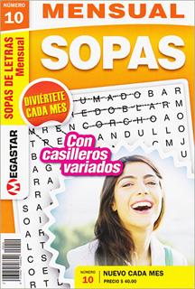 SOPAS DE LETRAS MENSUAL