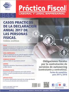 REVISTA PRACTICA FISCAL NUM 845 1A. ABRIL 2018