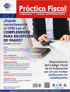 REVISTA PRACTICA FISCAL NUM 857 1A. OCTUBRE 2018