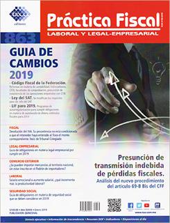 REVISTA PRACTICA FISCAL NUM 863 1A. DE ENERO DEL 2019