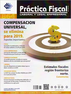 REVISTA PRACTICA FISCAL NUM 864 2A. DE ENERO DEL 2019