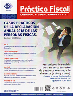 REVISTA PRACTICA FISCAL NUM 869 1A. DE ABRIL DEL...