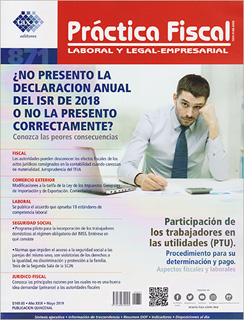 REVISTA PRACTICA FISCAL NUM 871 1A. DE MAYO DEL...