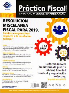 REVISTA PRACTICA FISCAL NUM 872 2A. DE MAYO DEL...