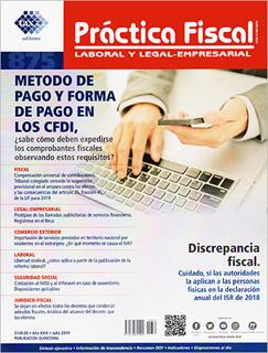 REVISTA PRACTICA FISCAL NUM 875 1A. DE JULIO DEL...