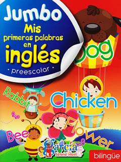 MIS PRIMERAS PALABRAS EN INGLES PREESCOLAR (JUMBO...