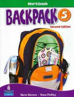 BACKPACK 5 WORKBOOK (INCLUDE CD)