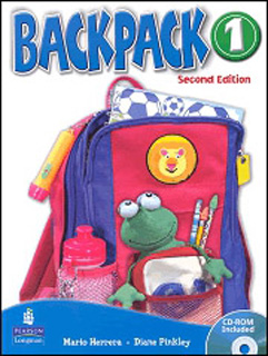 BACKPACK 1 STUDENTS BOOK (INCLUDE CD)
