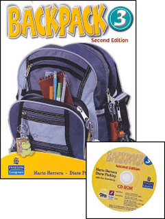 BACKPACK 3 STUDENTS BOOK (INCLUDE CD)