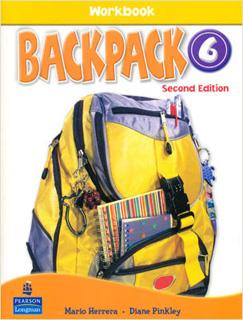 BACKPACK 6 WORKBOOK (INCLUDE CD)