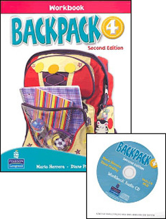 BACKPACK 4 WORKBOOK (INCLUDE CD)