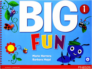 BIG FUN 1 STUDENTS BOOK (INCLUDE CD)