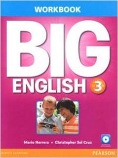 BIG ENGLISH 3 WORKBOOK (INCLUDE CD)