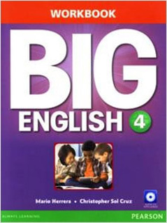 BIG ENGLISH 4 WORKBOOK (INCLUDE CD)