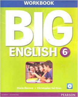 BIG ENGLISH 6 WORKBOOK (INCLUDE CD)