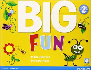 BIG FUN 2 STUDENTS BOOK (INCLUDE CD)